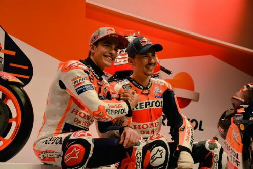 Jorge Lorenzo dan Marc Marquez.