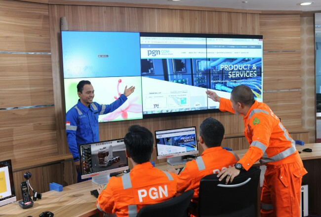 PGN menerapkan program Sapta PGN untuk memperkuat kinerja operasional dan melayani kebutuhan gas bumi secara terintegrasi.