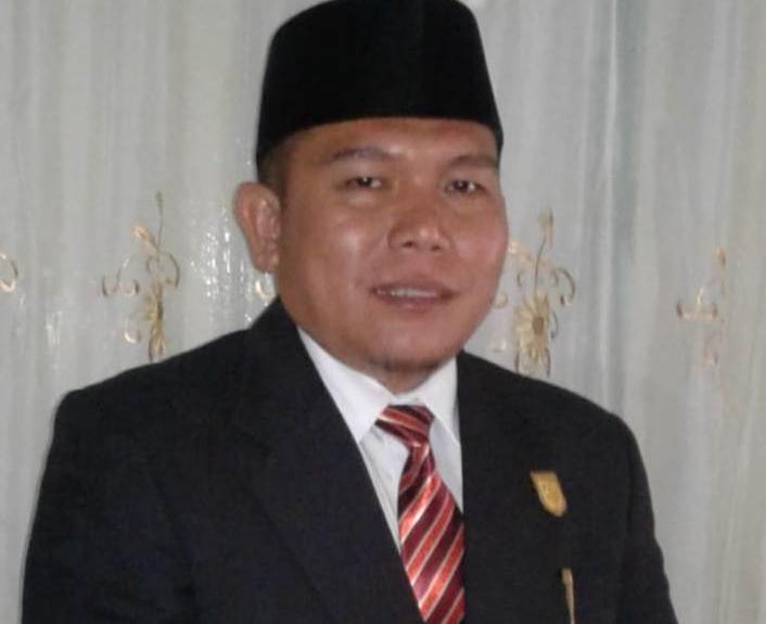 Wakil pimpinan DPRD Kuansing sementara Naswan.