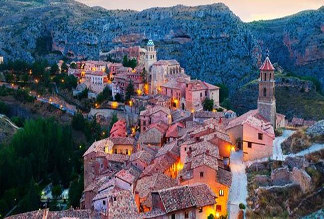 Desa Albarracin - Spanyol