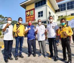 BPPW Kementerian PUPR selaku Koordinator UPT di Wilayah Riau mengadakan vaksinasi.