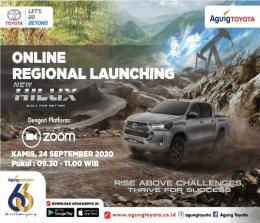 Online Regional Launcing Toyota New Hilux