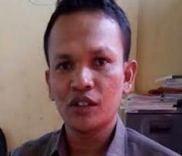 Sekretaris KPU Pelalawan, Sapran Daulay.