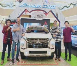 Launching Xpander Cross di Living World, Kamis (28/11/2019) oleh tiga dealer di Pekanbaru Suka Fajar, PT DIPO Internasional Pahala Otomotif dan Nusantara Berlian Motor