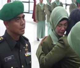 Kolonel Kaveleri Hendi Suhendi dicopot dari jabatannya.