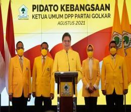 Ketua Umum Golkar, Airlangga Hartarto