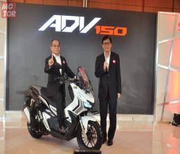 Launching Honda ADV 150