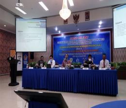 Susana media meeting di Pekanbaru, Senin (18/1/2021).