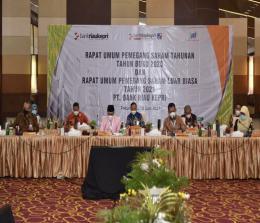 RUPS dan RUPSLB Bank Riau Kepri.