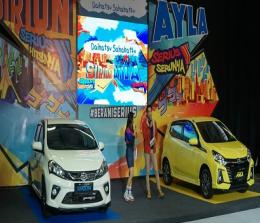 Launching New Ayla dan New Sirion
