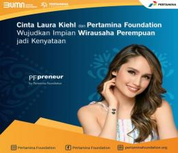 PFpreneur Pertamina Foundation Women Leaders and Enterpreneurs.