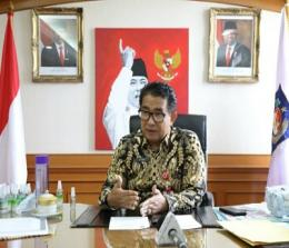 Direktur Jenderal (Dirjen) Otonomi Daerah (Otda) Kementerian Dalam Negeri (Kemendagri), Akmal Malik