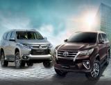 All New Pajero Sport Vs All New Fortuner
