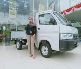 Pick Up Carry di Suzuki SM Amin Pekanbaru
