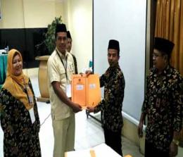KPU Rohul, gelar rapat Pleno Perolehan Kursi DPRD Rohul.