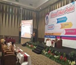 Forum Diskusi Publik dengan menghadirkan pembicara Mahfud MD.