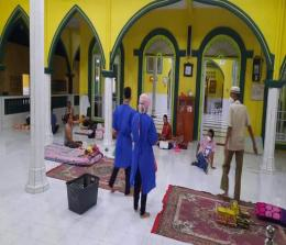 Masjid di Desa Tanjung Samak, Kepulauan Meranti dijadikan  tempat isolasi warga terkonfirmasi Covid-19