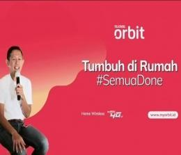 Head of Home LTE Telkomsel, Arief Pradetya