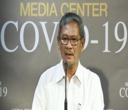 Juru bicara pemerintah untuk penanganan Corona, dr Achmad Yurianto