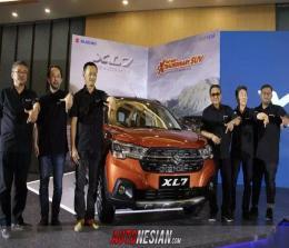 Suzuki XL7 mulai debut secara global dengan berlangsung di kawasan TMII, Jakarta, Sabtu (15/2/2020).