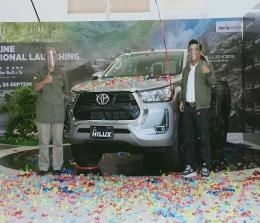 Iven online regional launching New Hilux.