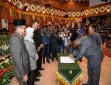Wagubri Wan Thamrin Hasyim hadiri Paripurna DPRD tentang Penyampaian Laporan Hasil Kerja Pansus terhadap Ranperda RTRW Provinsi Riau Tahun  2017-2037