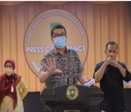 Jubir Satgas Covid-19 Riau Indra Yovi