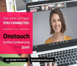 Smartfren luncurkan OneTouch Unified Conferencing.