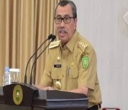 Gubernur Riau (Gubri) Syamsuar.