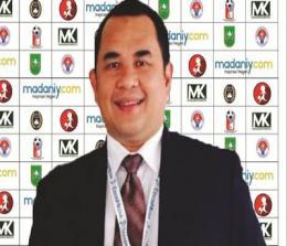 Ketua PWI Riau H Zulmansyah Sekedang