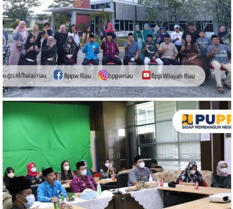 <p>Suasana Lebaran Idul Fitri hari ke-2, Balai PPW Riau ikuti acara silaturahmi virtual bersama Kementerian PUPR yang penuh keakraban dan keceriaan, Jumat (14/5/2021)</p> <p>Kegiatan ini dihadiri Kepala Balai PPW Riau, Ichwanul Ihsan, Kasubag Umum & Tata Usaha, Kasi Pelaksanaan Wilayah 1, PPK Air Minum, PPK Prasarana Strategis, PPK PKP, PPK Tanggap Darurat, PPSPM dan Bendahara Balai dan Satker dan staf, serta Ibu-ibu Paguyuban Balai PPW Riau. Foto Ist</p>